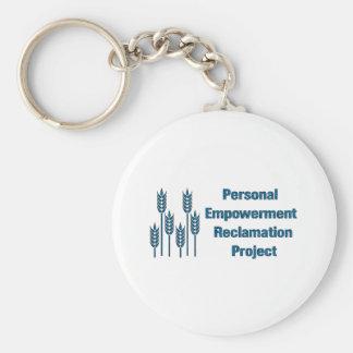 Personal Empowerment Basic Round Button Keychain