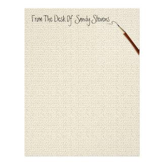 Personal Fine Linen Stationery Letterhead