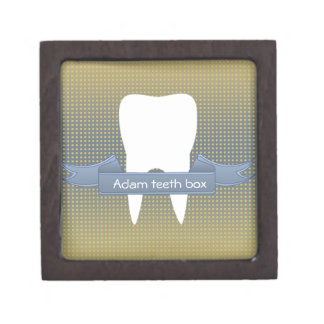 Personal first tooth and theeth box for child premium trinket boxes