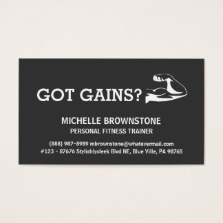Health And Fitness Business Cards & Templates | Zazzle