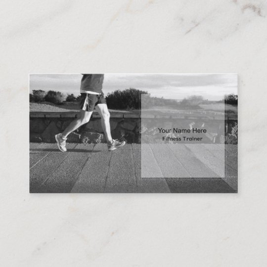 Personal fitness trainer business card template zazzle personal fitness trainer business card template wajeb Image collections