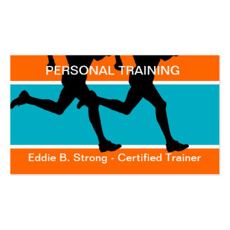 Personal Fitness Training Business Cards