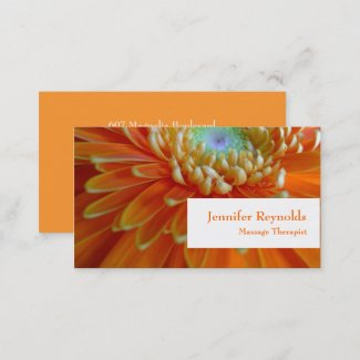 Personal Floral Business Card
