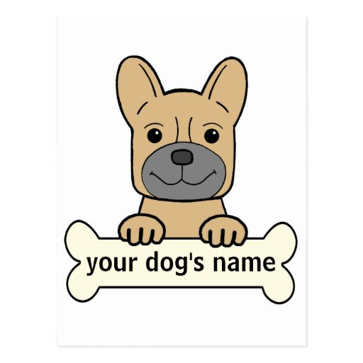 Personal French Bulldog Post Card
