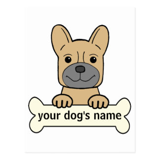 Personal French Bulldog Postcard
