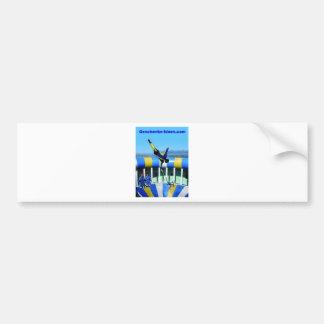 Personal gift bumper sticker