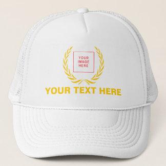 Personal Golden Laurel Wreath Trucker Hat