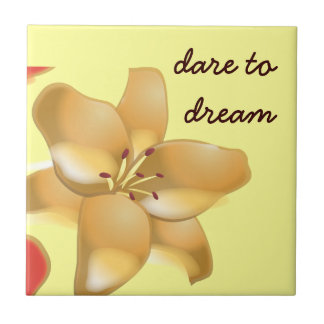 Personal Growth: Dare to Dream Tile