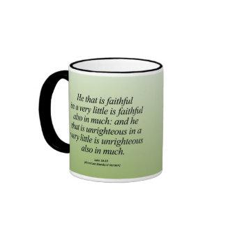 Personal Growth Luke 16:10 Abbrev Mugs