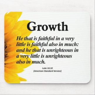 Personal Growth Luke 16:10 Mousepad
