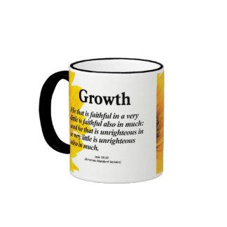 Personal Growth Luke 16:10 Coffee Mugs