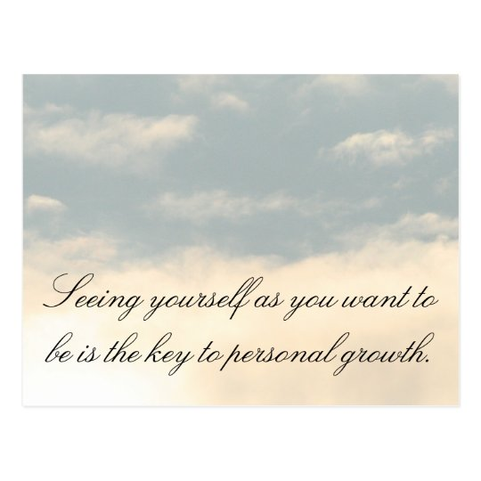 Personal Growth Postcard