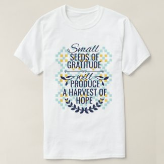 Personal growth stylish gratitude T-Shirt