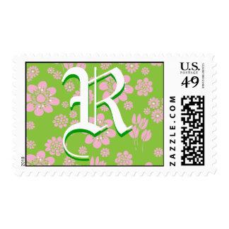 Personal initial stamp