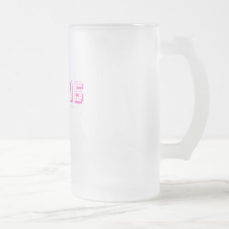 Personal Jesus! Frosted Glass Beer Mug