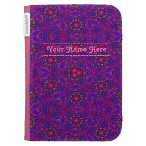 Personal Kaleidoscope Design Kindle Cover