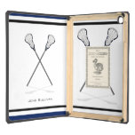 Personal Lacrosse DODOcase iPad Air Case at Zazzle