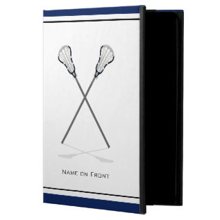 Personal Lacrosse Ipad Air Case at Zazzle
