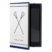 Personal Lacrosse Ipad Mini Case at Zazzle