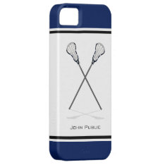 Personal Lacrosse Iphone 5/5s Case at Zazzle