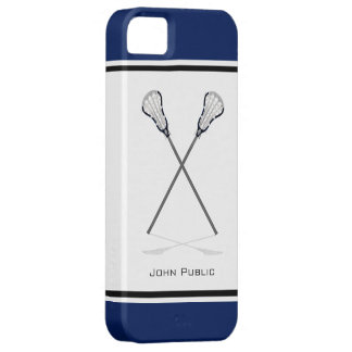 Personal Lacrosse iPhone 5/5S Case