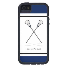 Personal Lacrosse Iphone 5/5s Tough Xtreme Case at Zazzle