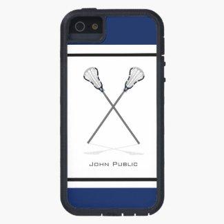 Personal Lacrosse iPhone 5/5S Tough Xtreme Case