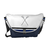 Personal Lacrosse Messenger Bag Medium at Zazzle