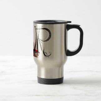 personal lettered idems coffee mugs