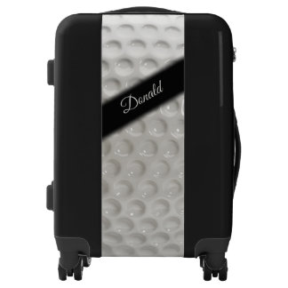 Personal Name Golf Ball Sport Luggage