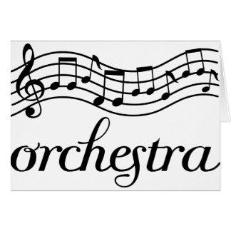 Personal negro de la orquesta felicitaciones