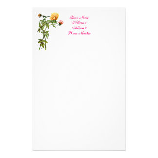 Personal/Non-Business Stationery