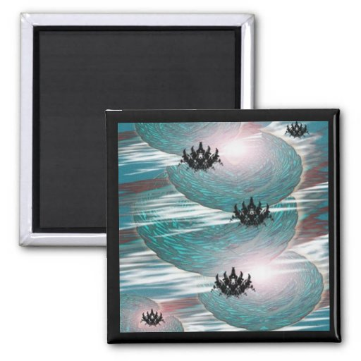 Personal Odyssey 2 Inch Square Magnet