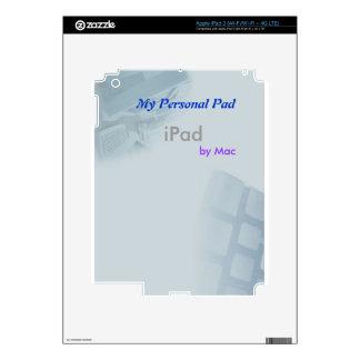 Personal PAD iPad 3 Skins