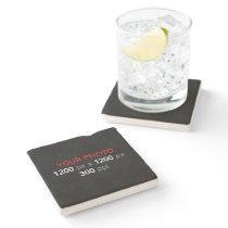Personal Photo Creation - Limestone Stone Coaster