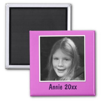 Personal Pink Greeting Custom Photo and Text