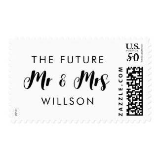 Personal Postage Stamp The Future Mr and Mrs