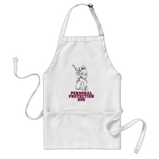 Personal Protection Dog Adult Apron