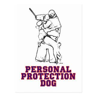 Personal Protection Dog Postcard