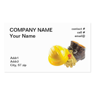 Personal Protective Equipment Business Card Templates