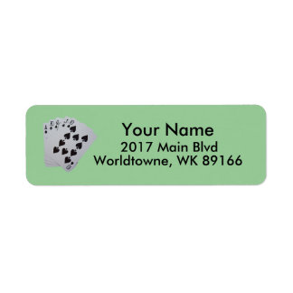 Personal Return Address Return Address Label