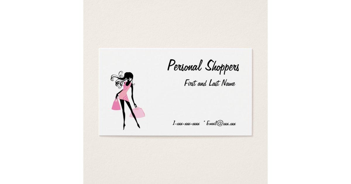 Shopper Business Cards & Templates | Zazzle