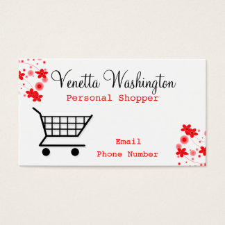 Personal Shopper Business Card