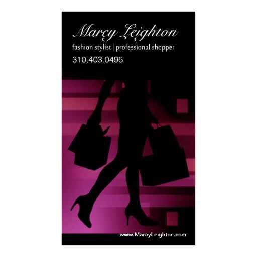 Personal Shopper, Fashion Stylist, Designer Business Card