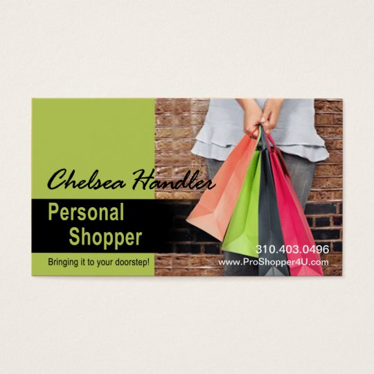Personal Shopper, Sassy Fashion Stylist, Assistant Business Card