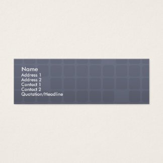 Personal Skinny Business Card