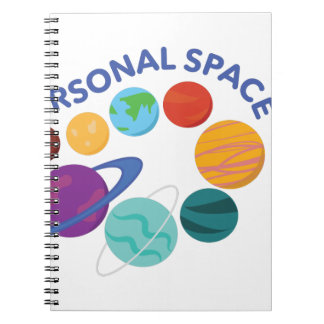 Personal Space Note Books