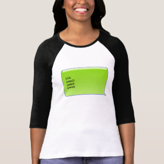 Personal Texting Bubble - four liner T-Shirt