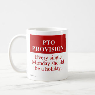 Personal Time Off Allocation (3) Coffee Mug