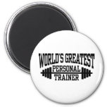 Personal Trainer 2 Inch Round Magnet